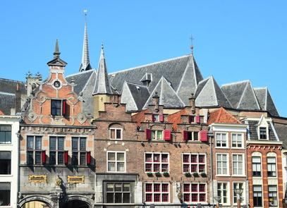 Nijmegen- Urlaub in GelderlandMarkt view