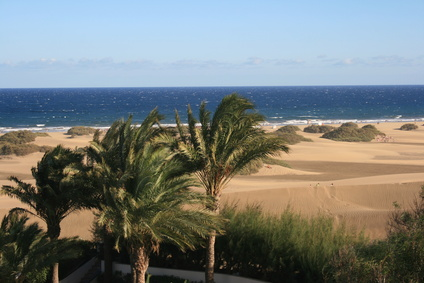 Artikelgebend sind die Traumstrände auf Gran Canaria.