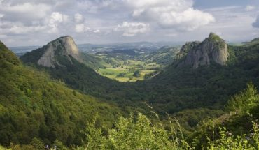 Die Auvergne in Frankreich