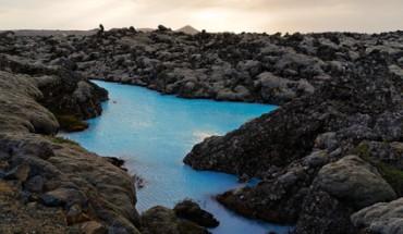 Blaue Lagune auf Island