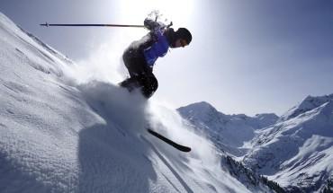 extremes Ski fahren