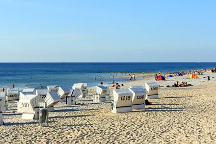 Strand auf Westerland